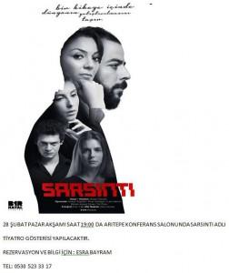 Sarsinti adli Tiyatro Gosterisi